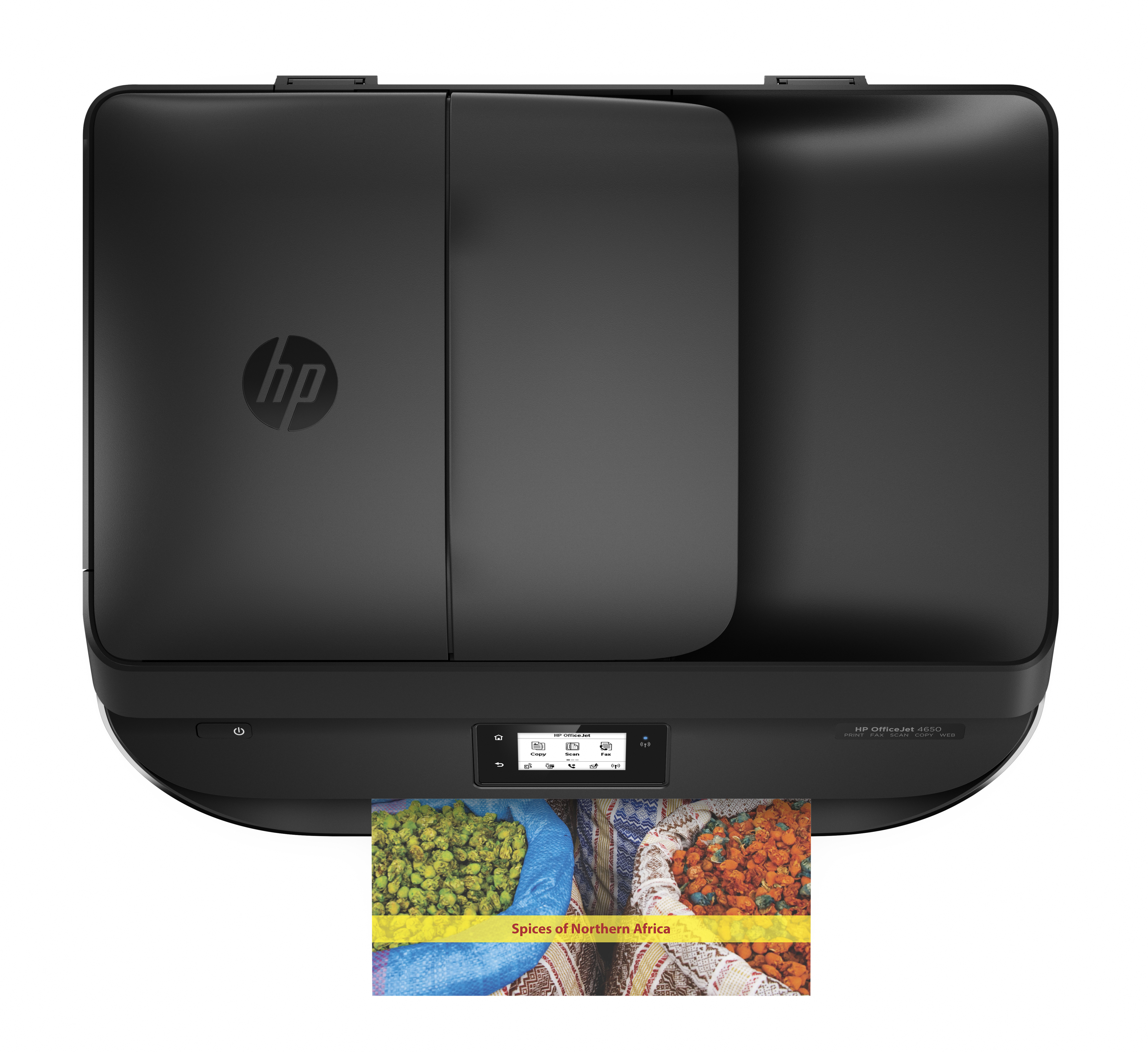 how to use fax on hp officejet 4650