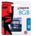 TARJETA MEMORIA SECURE DIGITAL 8GB KINGSTON SD HC